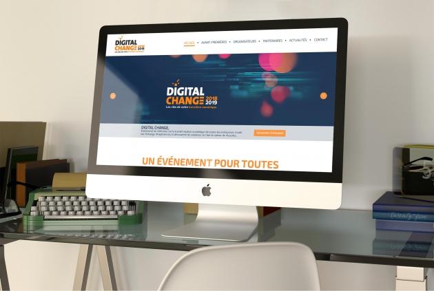 Un nouveau site Internet pour Digital Change