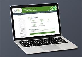 Le nouveau site catalogue de Astikoto