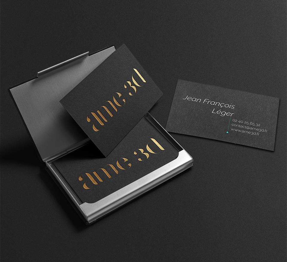 AME 3D Graphisme Identitaire Plaquette Catalogue Webdesign