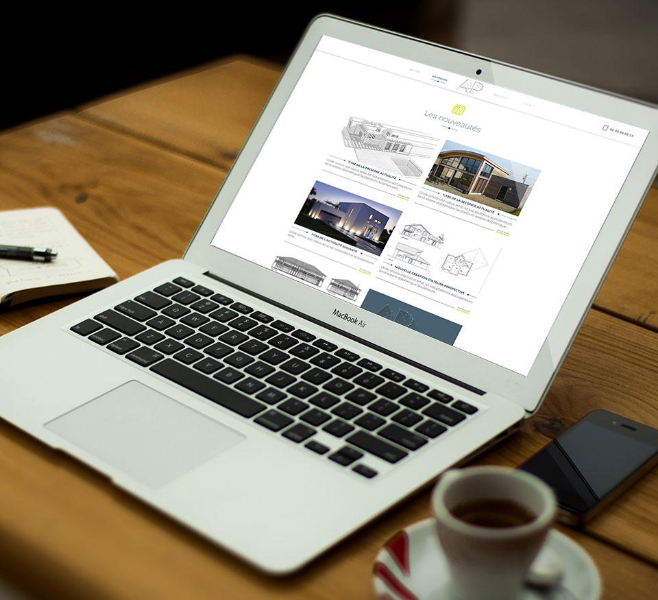 site internet - Atelier Perspective