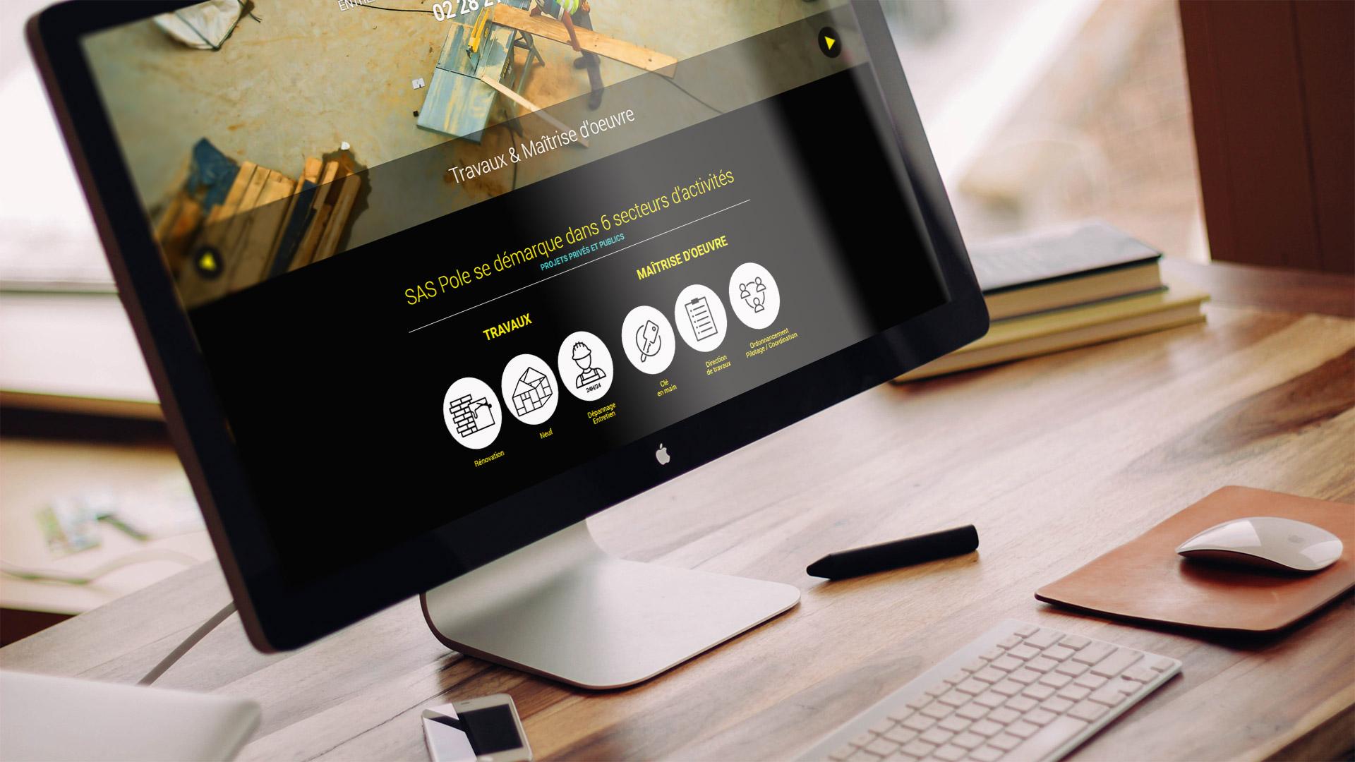 webdesign entreprise Pole