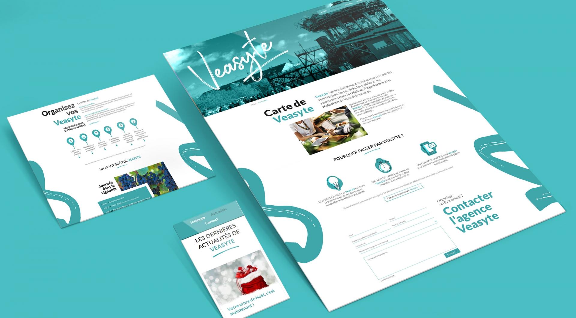 webdesign Veasyte par ACID Solutions
