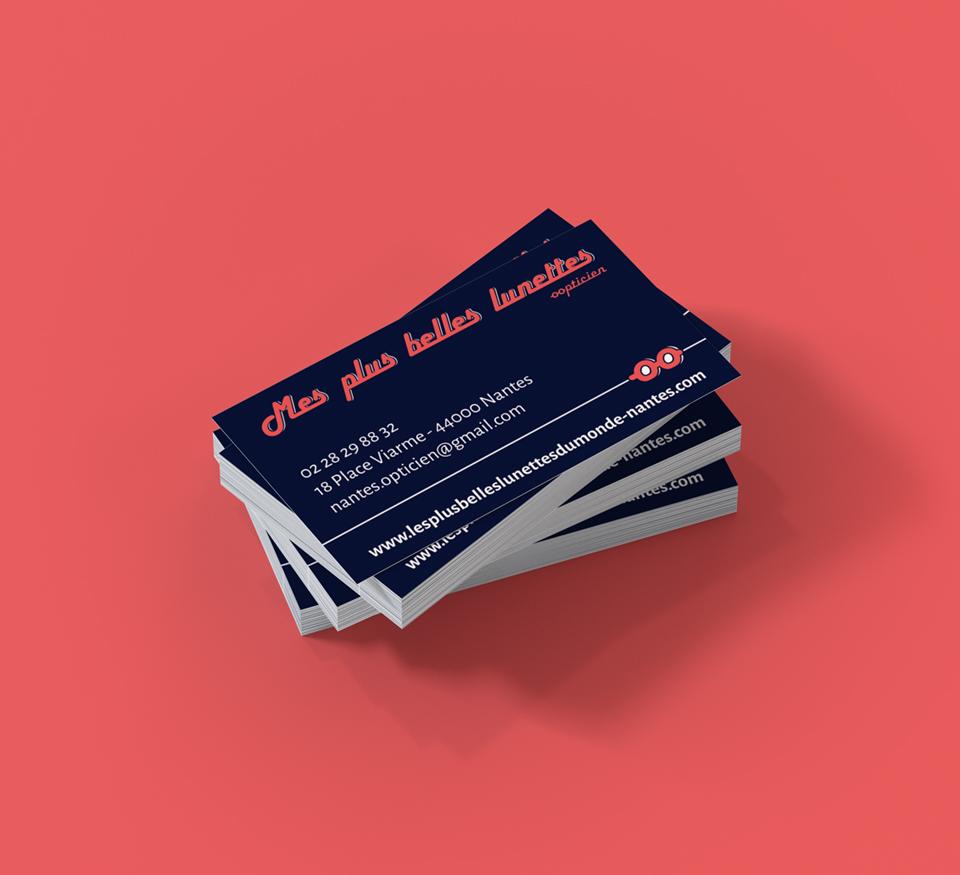 Cartes de visite print - Mes Plus Belles Lunettes